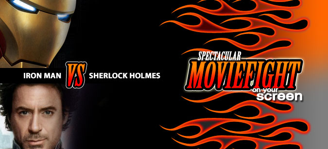 Iron Man vs. Sherlock Moviefight: Holmes