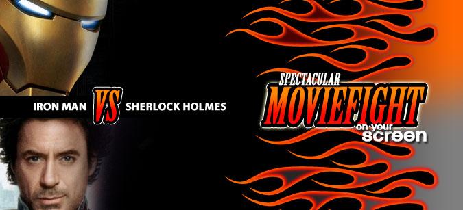 Iron Man vs. Sherlock Moviefight: Holmes