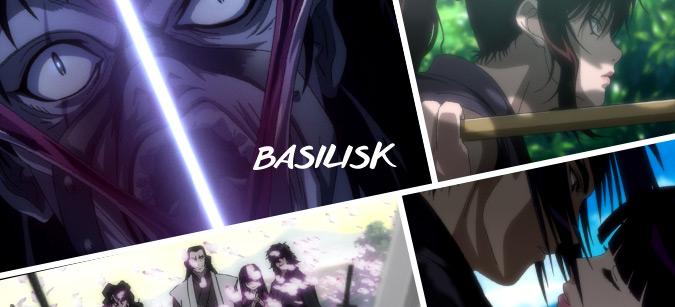 Basilisk © © 2005 FUTARO YAMADA · MASAKI SEGAWA · KODANSHA/GONZO. All Rights Reserved.